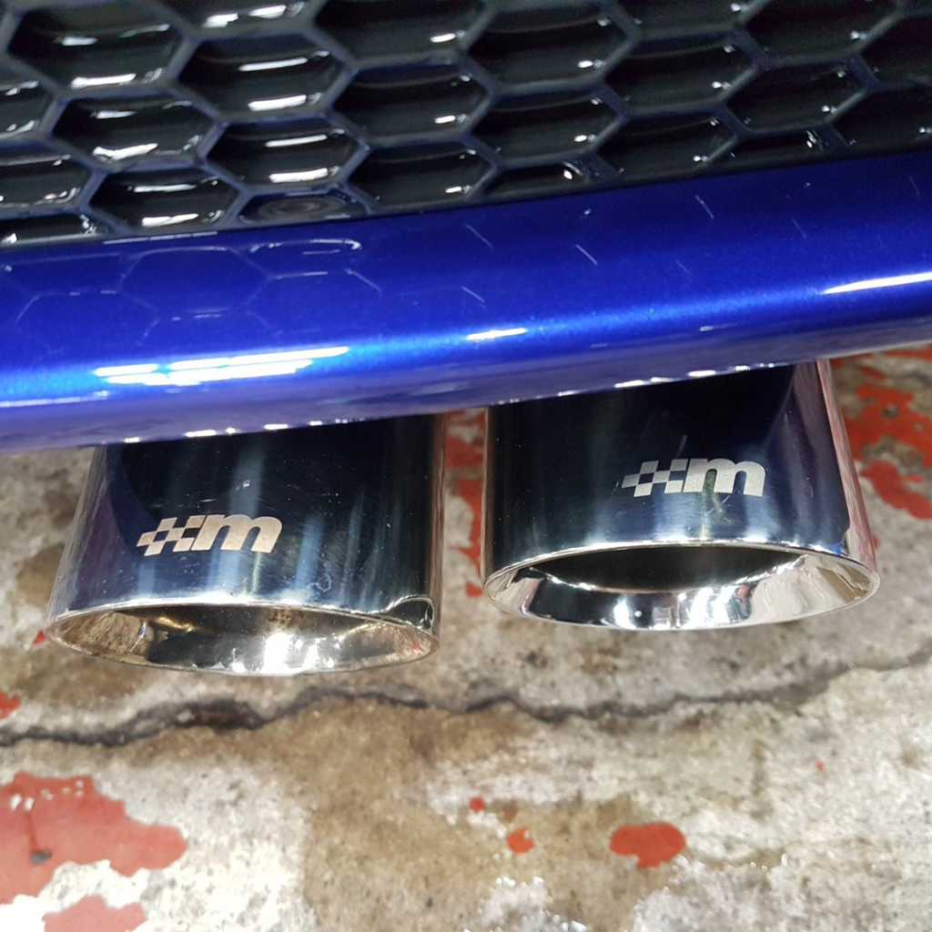 MP215 Fiesta Cat Back Exhaust