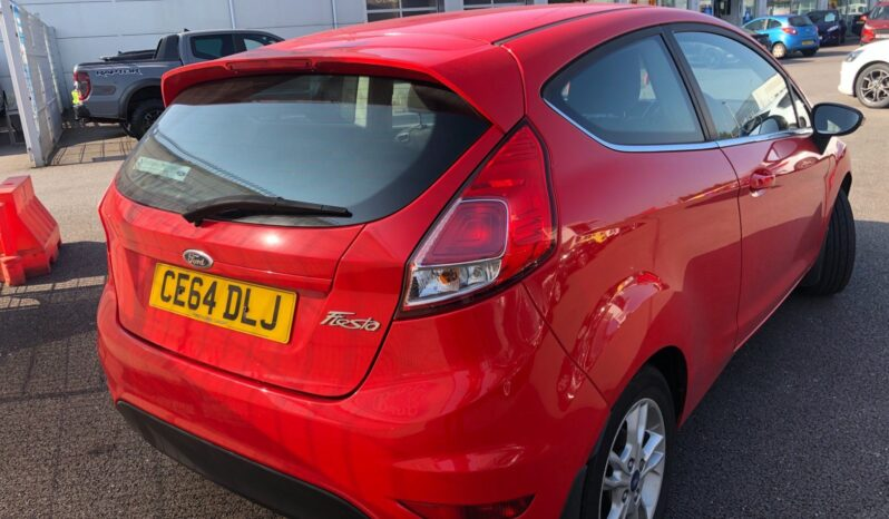 2014 Ford Fiesta Zetec full