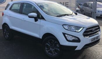 2018 Ford Ecosport 1.0T EcoBoost Zetec SUV 5dr Petrol (s/s) (125 ps) full