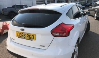 2016 Ford Focus EcoBoost Zetec full