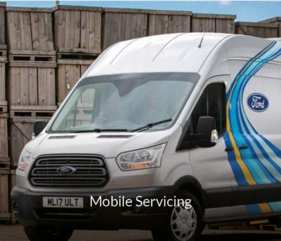 Transit mobile servicing